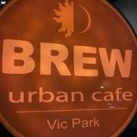 Photo taken at Brew Urban Cafe by Orlando O. on 7/15/2012