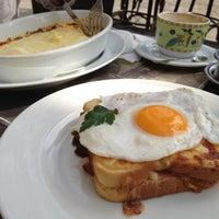 Photo taken at Le Petit Café by Branko J. on 3/24/2012