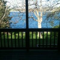 Photo taken at Lotus Lake by Jon S. on 4/24/2012