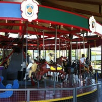 Photo taken at Greenport Antique Carousel by Lexi J. on 7/10/2012