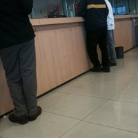 Photo taken at Banco Santander Irarrázaval by Claudia D. on 7/24/2012