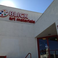 Photo taken at Blick Art Materials by Dtm F. on 7/20/2012