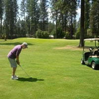 Photo taken at Coeur d'Alene Golf Club by Herb S. on 7/26/2012