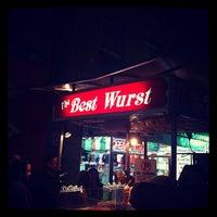 Photo taken at The Best Wurst by Luke F. on 3/24/2012