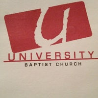 Photo taken at University Baptist Church by Tami K. on 9/9/2012