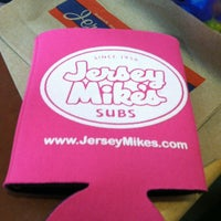 Photo taken at Jersey Mike's Subs by Lisa N. on 3/12/2012