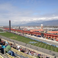 Photo taken at Auto Club Speedway by Mike G. on 3/25/2012