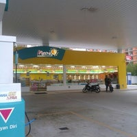 Photo taken at PETRONAS Station by Hanif N. on 8/21/2012