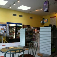 Photo taken at Emerald City Smoothie by Stefanie on 3/17/2012