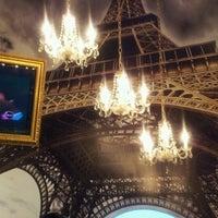 Photo taken at Le Café De París by Juan Z. on 7/5/2012