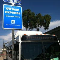 Photo taken at Fullerton Park and Ride by Sammy Q. on 8/12/2012