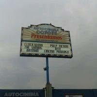 Photo taken at Autocinema El Coyote by Fernanda V. on 5/7/2012