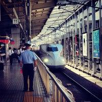 Photo taken at 京都駅 新幹線ホーム by __akira_akira__ on 8/2/2012