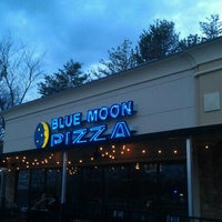 Photo taken at Blue Moon Pizza by Nick B. on 2/4/2012