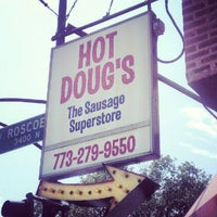Photo taken at Hot Doug's by Gail R. on 6/28/2012