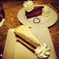 Photo taken at The Cheesecake Factory by Chilly C. on 4/26/2012
