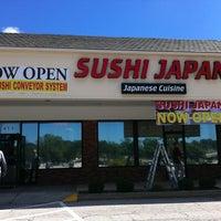 Photo taken at Sushi Japan by Nancy G. on 9/9/2012