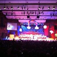 Photo taken at Koncertna dvorana Vatroslava Lisinskog by Iva S. on 4/22/2012