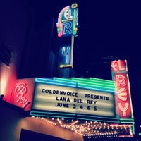 Photo taken at El Rey Theatre by Emily H. on 6/6/2012