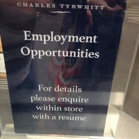 Photo taken at Charles Tyrwhitt by Laurence H. on 9/6/2012