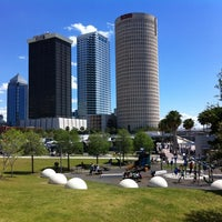 Photo taken at Curtis Hixon Waterfront Park by Shawn B. on 3/25/2012