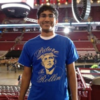 Photo taken at Ready To Go Rally in Columbus with Barack and Michelle Obama 05/05/2012 by Arshan A. on 5/5/2012