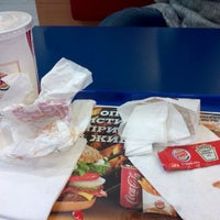 Photo taken at Burger King by Dmtr on 2/2/2012
