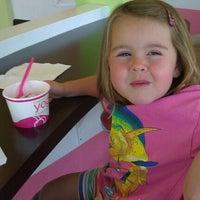 Photo taken at Yogi Frozen Yogurt by Jason P. on 6/28/2012