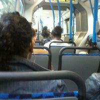 Photo taken at Bus 22 richting Houthavens by Misa S. on 7/3/2012