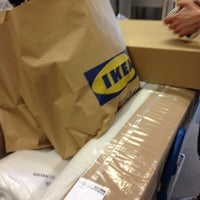 Photo taken at IKEA Barkarby by Fredrik S. on 6/9/2012