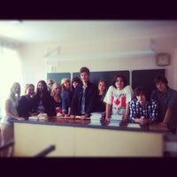 Photo taken at Гимназия № 105 by Lisa M. on 8/28/2012