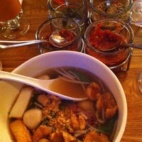 Photo taken at Zoob Zib Thai Noodle Bar by Lana C. on 2/27/2012