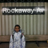 Photo taken at MTA Subway - Rockaway Ave (3) by Becky H. on 2/6/2012