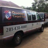 Photo taken at Queen's Carpet Care by Chris A. on 8/19/2012