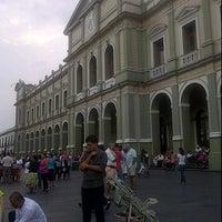 Photo taken at Palacio Municipal by Aby V. on 6/4/2012