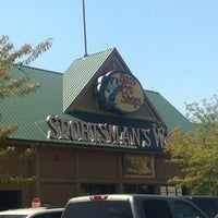 Photo taken at Bass Pro Shop by Stephen F. on 8/7/2012