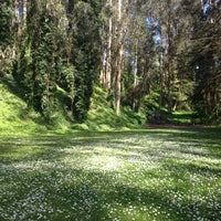 Photo taken at Sigmund Stern Grove by Jasmine D. on 4/18/2012