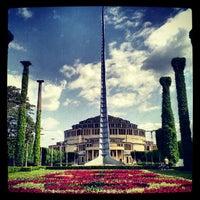 Das Foto wurde bei Jahrhunderthalle von Kamil G. am 5/23/2012 aufgenommen