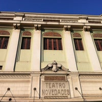 Photo taken at Teatro Novedades by Fabian J. on 7/26/2012