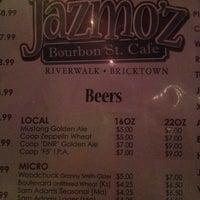 Photo taken at Jazmo'z Bourbon St. Cafe by Sloane G. on 7/8/2012