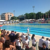 Photo taken at Stadio Del Nuoto by Gianluca S. on 6/13/2012
