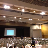 Photo taken at MMU Grand Hall by Toshiaki I. on 5/27/2012