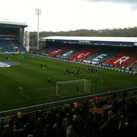 Photo taken at Ewood Park by Andy H. on 4/21/2012