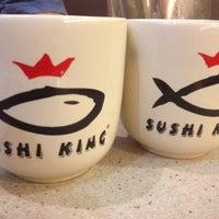Photo taken at Sushi King by Hamie K. on 7/19/2012