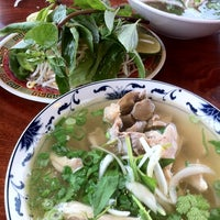 Photo taken at Pho Hoa Hiep Restaurant by Cindy B. on 4/30/2012