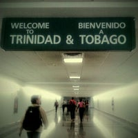 Photo taken at Piarco International Airport (POS) by Selegna D. on 5/30/2012