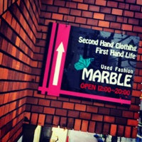 Photo taken at used fashion MARBLE by 米倉 元. on 5/3/2012