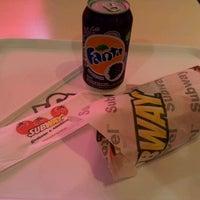 Photo taken at Subway by Manuela T. on 5/21/2012