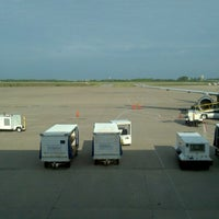 Photo taken at Gate A2 by Eric P. on 4/27/2012