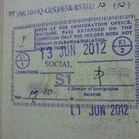 Photo taken at Bahagian Kewangan Jabatan Imigresen Malaysia, Negeri Sarawak by Azmi A. on 6/11/2012